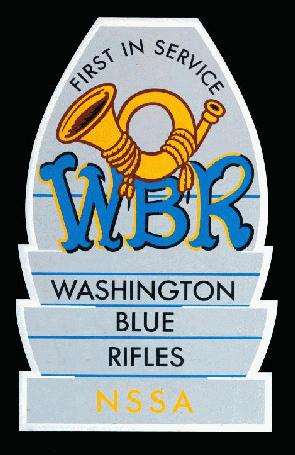 Logo of the Washington Blue Rifles